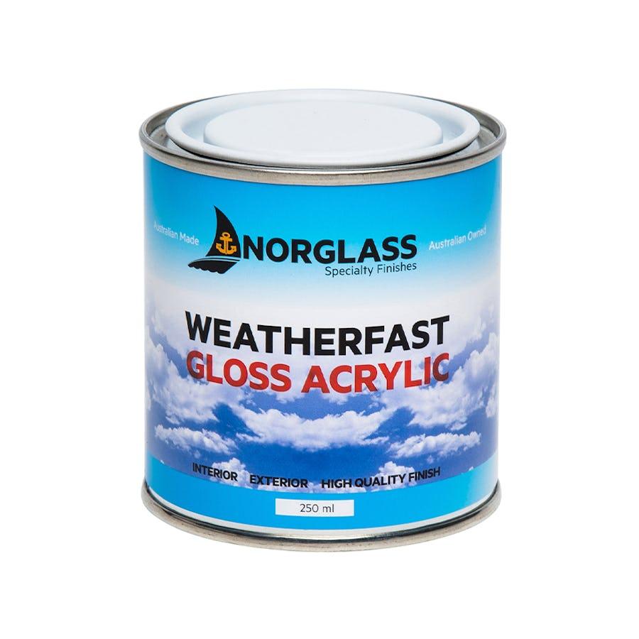 Norglass Weatherfast Acrylic Gloss White 250ml