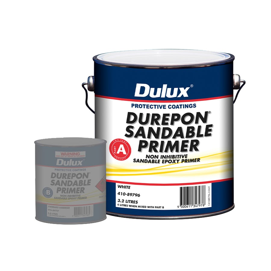 Dulux Protective Coatings Durepon® Sandable Primer Part A White 3L