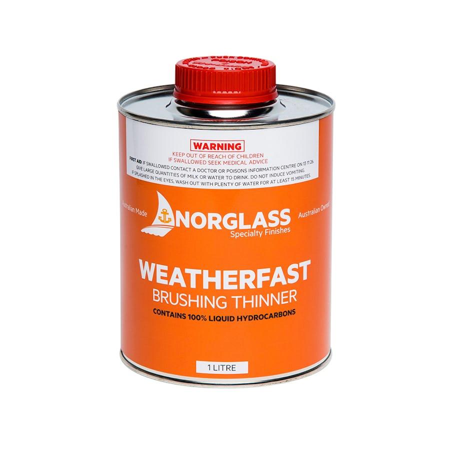 Norglass Weatherfast Brushing Thinners 4L