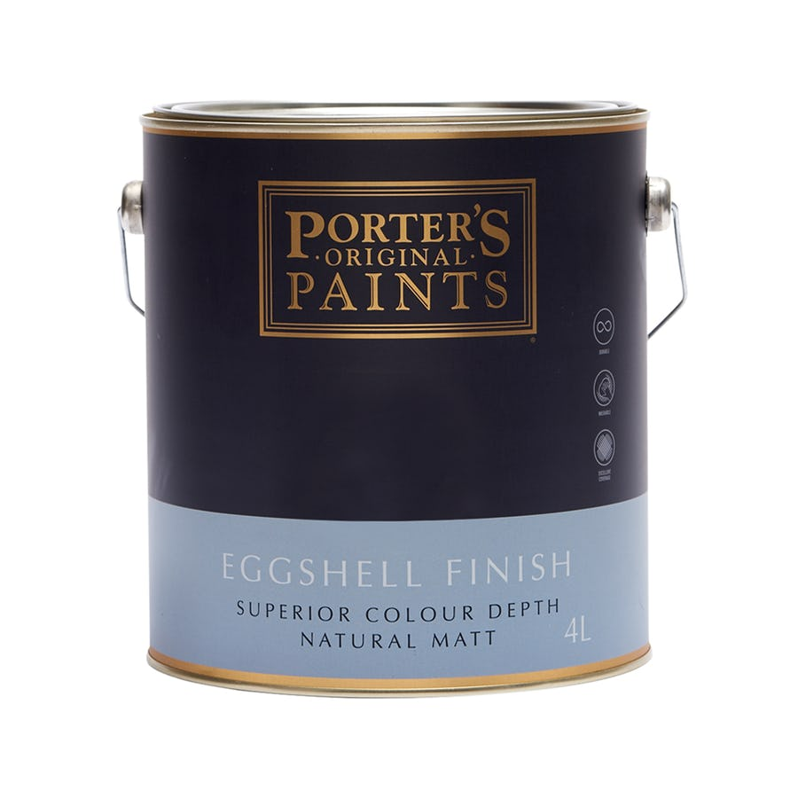 Porter's Eggshell Acrylic Standard 4L